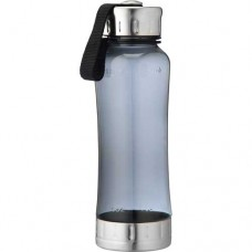 Black Augusta Tritan Sports Bottles | 18 oz - Smoke