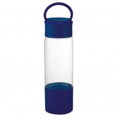 Royal Blue Color Band Tritan Sports Bottles | 22 oz