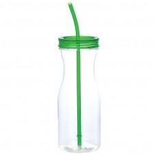 Lime Green Carafe Style Tumblers | 35 oz