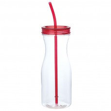 Red Carafe Style Tumblers | 35 oz