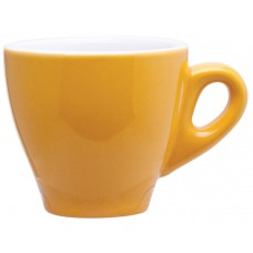 yellow 3 oz demi mugs