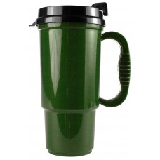 Metallic Green The Commuter - 16 oz. Auto Mugs-Metallic Colors
