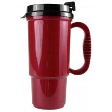 Metallic Red The Commuter - 16 oz. Auto Mugs-Metallic Colors