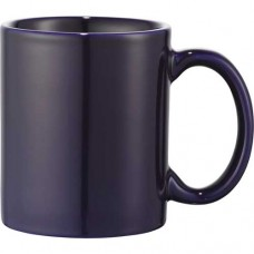 Navy Blue Bounty Ceramic Mugs | 11 oz