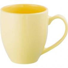 Yellow Zapata Mugs - Pastel   15 oz