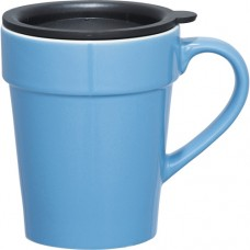 Light Blue Habanera Ceramic Mugs | 10 oz