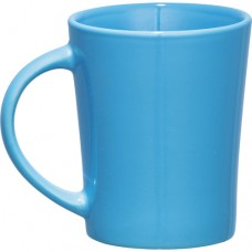 Light Blue Palms Ceramic Mugs | 14 oz