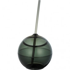 Black Fiesta Ball With Straw | 20 oz - Smoke