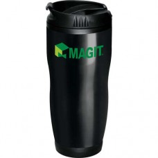 Black Logan Travel Tumblers | 16 oz