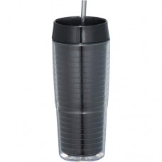 Black Xander Tumblers With Straw | 20 oz