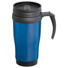 Metallic Blue Sanibel Travel Mugs | 14 oz