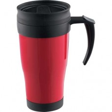 Red Modesto Insulated Mugs | 16 oz