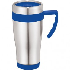 Royal Blue Seaside Travel Mugs | 15 oz