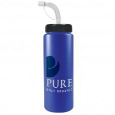 Royal Blue The Sports Quart - 32 oz Bottles Colors (Straw Lid)