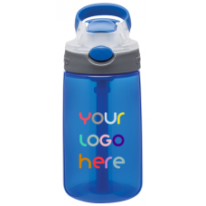Blue 14 oz Contigo Gizmo Water Bottles