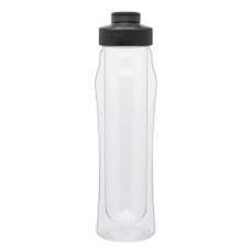 Black 16 oz H2Go Double Wall Tritan Water Bottles