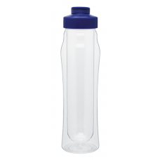 Blue 16 oz H2Go Double Wall Tritan Water Bottles