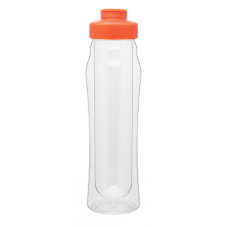 Orange 16 oz H2Go Double Wall Tritan Water Bottles
