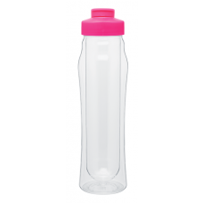 Pink 16 oz H2Go Double Wall Tritan Water Bottles