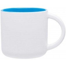 Sky Blue Minolo Mugs - Matte White | 14 oz