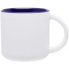 Cobalt Blue Minolo Mugs - Matte White | 14 oz