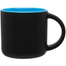 Sky Blue Minolo Mugs - Matte Black | 14 oz