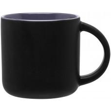 Matte Black Storm Gray Minolo Mugs - 14 oz