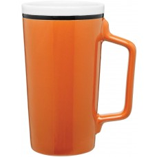 Orange Tecla Ceramic Mugs | 18 oz