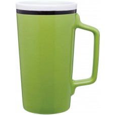Lime Green Tecla Ceramic Mugs | 18 oz