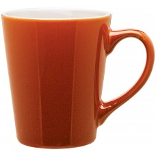 Orange Carlo Ceramic Mugs | 12 oz