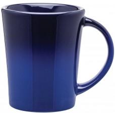 Blue Emma Ombre Ceramic Mugs | 14 oz