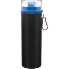 Blue H2Go Trek Aluminum Water Bottles - Matte Black | 28 oz