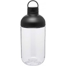 Black H2Go Capsule Bottles | 34 oz
