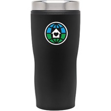 Black Double Wall Stainless Steel Stealth Tumblers | 16 oz - Matte Black