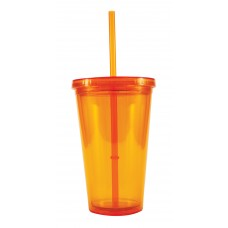 Orange Freedom Tumblers | 16 oz