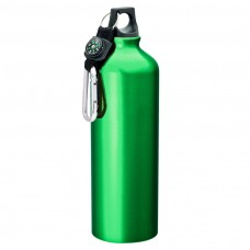 Green Flask with Carabiner | 33.8 oz