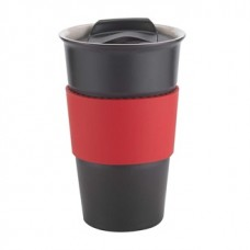 Red Java | 12 oz - Black with Red Gripper