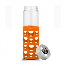 Orange Veranda Grip | 20 oz - Clear with Orange Grip