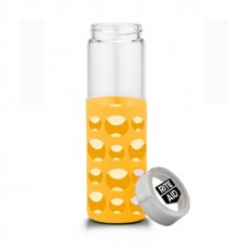 Yellow Veranda Grip | 20 oz - Clear with Yellow Grip