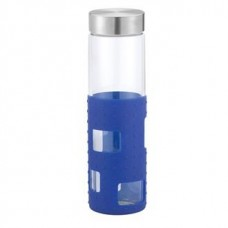 Blue Sili Window Glass Bottles | 20 oz