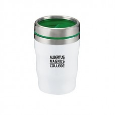 Green Levana | 12 oz - White with Green Lid and Band