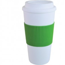 Green Brazilian | 16 oz - White with Green Grip