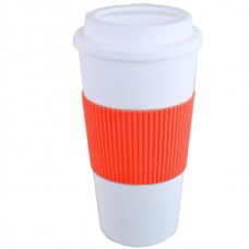 Orange Brazilian | 16 oz - White with Orange Grip