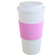 Pink Brazilian | 16 oz - White with Pink Grip