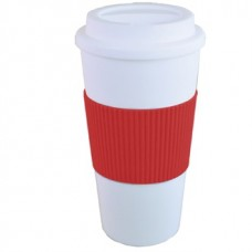 Red Brazilian | 16 oz - White with Red Grip