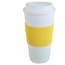 Yellow Brazilian | 16 oz - White with Yellow Grip