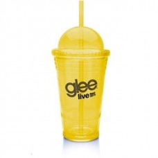 Yellow Slurpy With Dome Lid | 16 oz