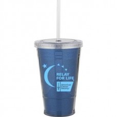 Blue Slurpy With Ultra Insert | 16 oz