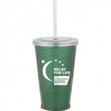 Green Slurpy With Ultra Insert | 16 oz