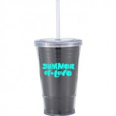 Black Slurpy With Disco Insert | 16 oz